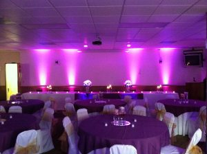 Purple uplighting