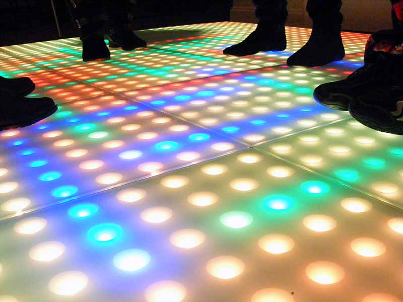 Interactive Light Up Dance Floor